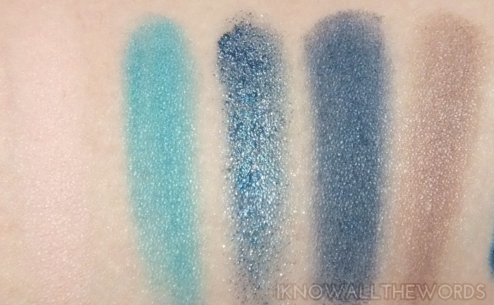 makeup by one direction 5 eyeshadow palette swatches- Up All Night (11)