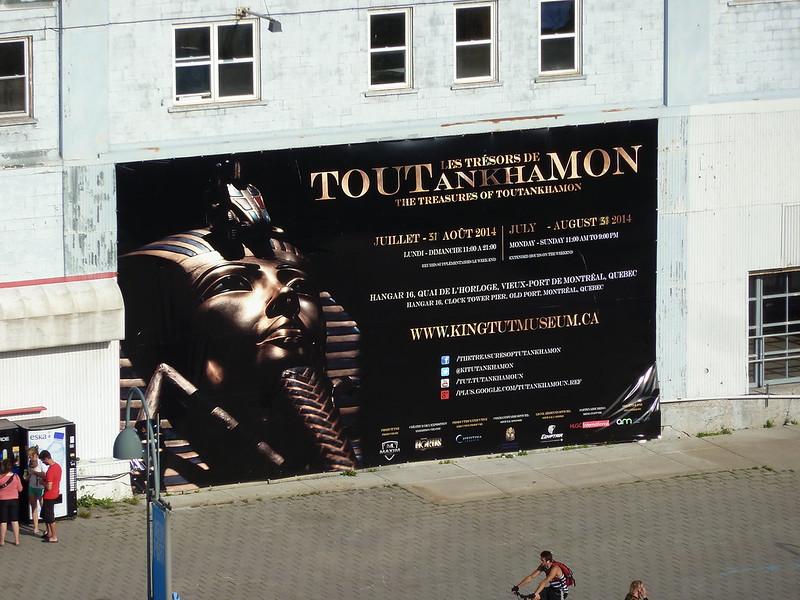Выставка сокровищ Тутанхамона