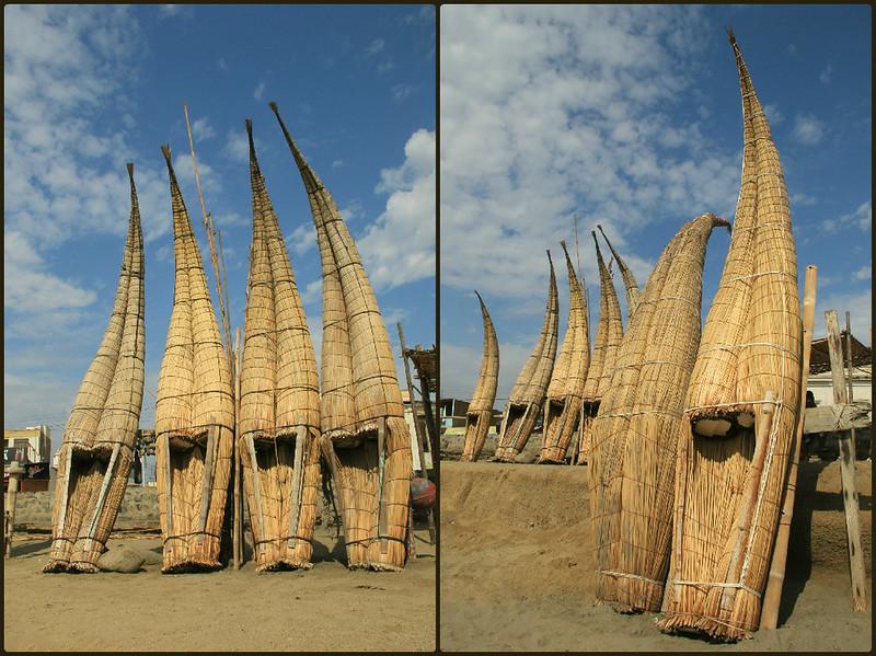 Reed boats, Huanchaco