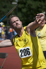 Javelin throw at Gay Games 9 Cleveland + Akron