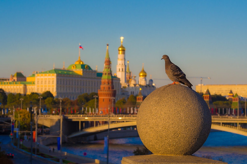 Photograph «Moscow and peace envoy» by Andrew Barkhatov on 500px