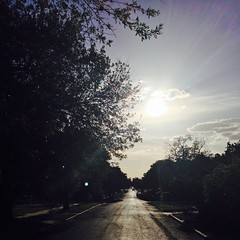 23 August 2014 #sunset #samespotforayear