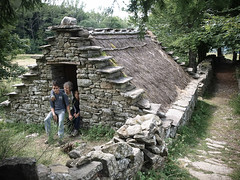 In a Celtic Hut