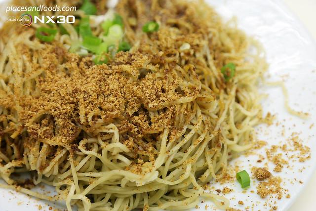 cheong kei macau shrimp roe noodles