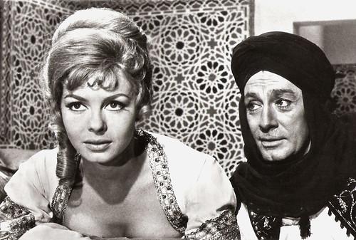 Michèle Mercier, Jean-Claude Pascal, Angélique et le sultan.