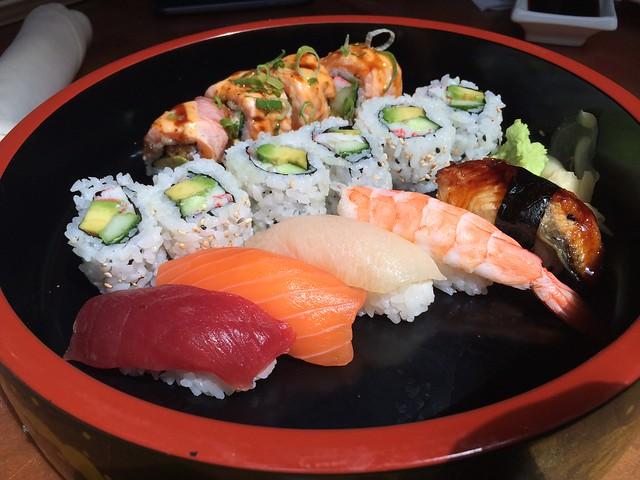 Sushi lunch set - Asia Nine