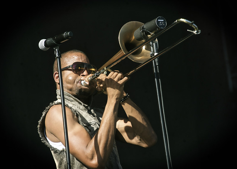 Trombone Shorty @ LouFest 2014