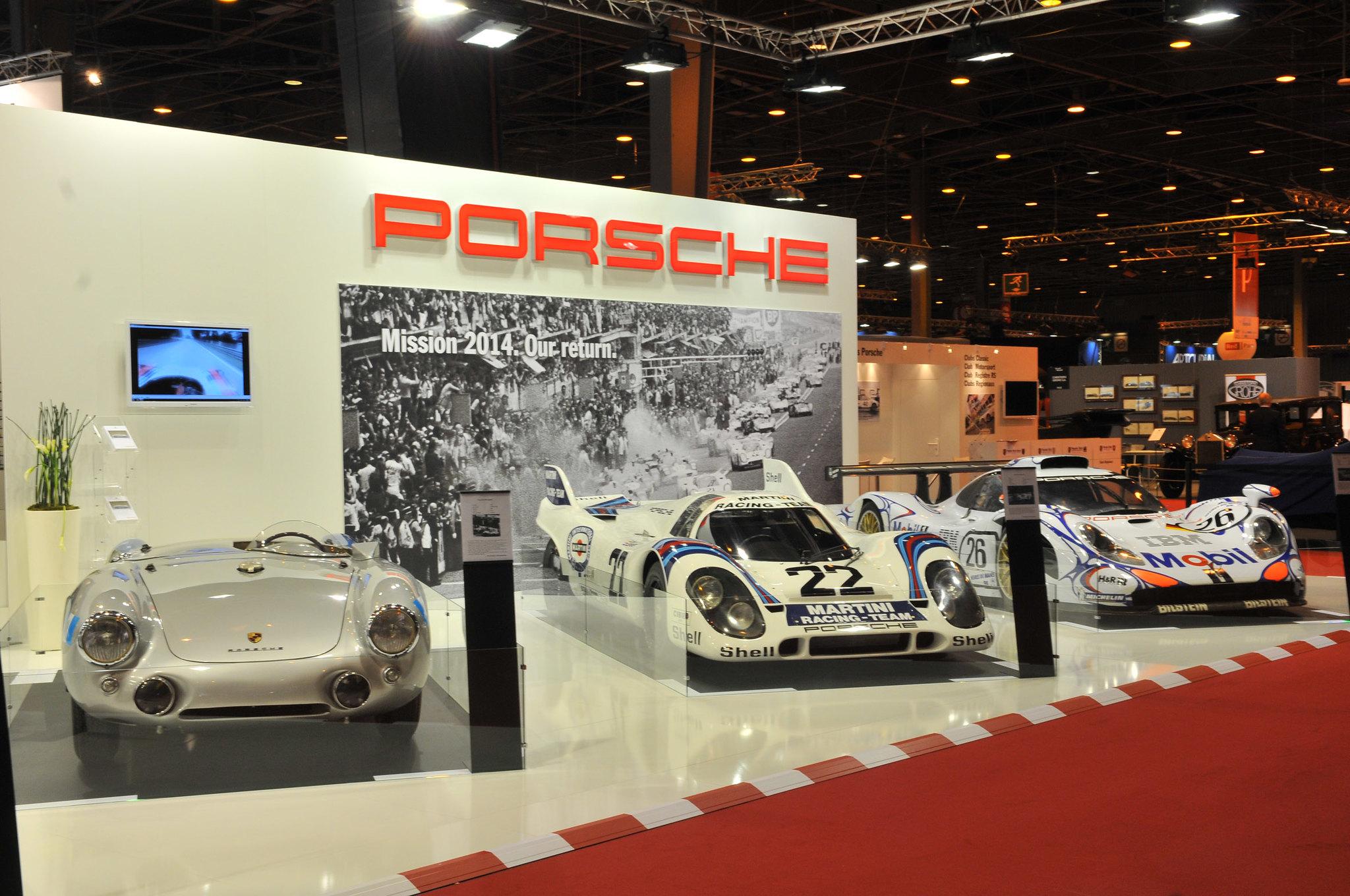 Porsche 550 Spyder, Porsche 917K et Porsche 911 GT1-98