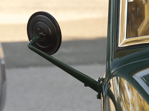 Vintage Side Mirrors : Modern manufacturing for vintage autos evil mad