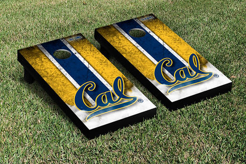 California Berkeley Golden Bears Cornhole Game Set Vintage Version