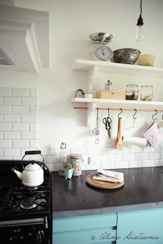 Nieuwe landelijke brocante vintage keuken Aline - foto no.1