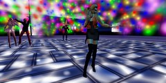 Avatar Social Networks first Anniversary Party.Wiff particles..!