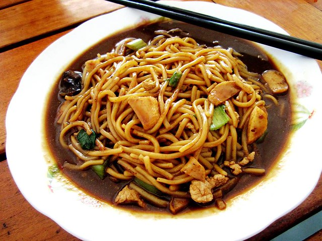 RTM Cafe Sibu Foochow fried noodles