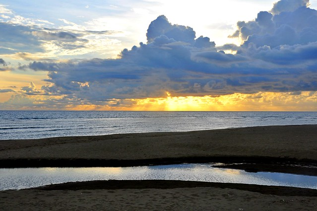 A Glorious Sunset at Bulanos, Narvacan, Ilocos Sur
