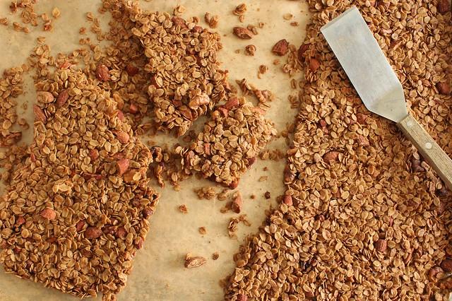 ginger granola.