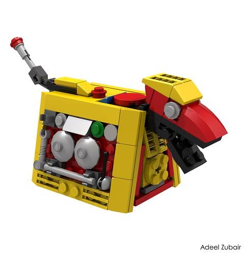 LEGO Creator - Clockwork Robot (31040) Alternative Model - Robotic Dog