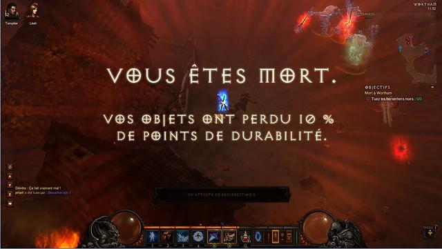 Diablo 3 - mort
