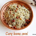 Curry leaves idiyappam