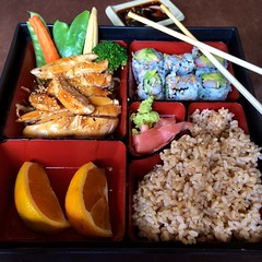 meal, lunch, fish, ekiben, makunouchi, food, dish, cuisine, osechi, bento,