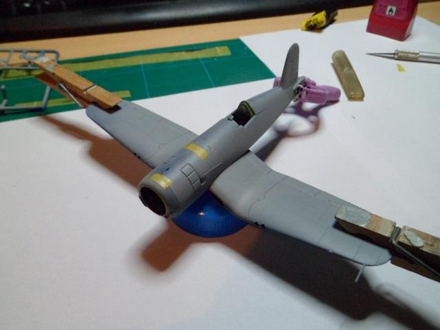 Vought F4U-5-Corsair [Revell 1/72] - Voilaaaa c'est finiiiiii (bis) !  15208767559_34f67ee685_o