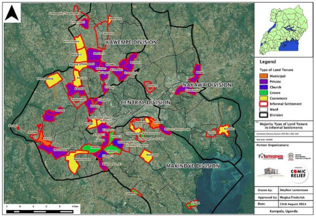 Kampala Land Tenure Map