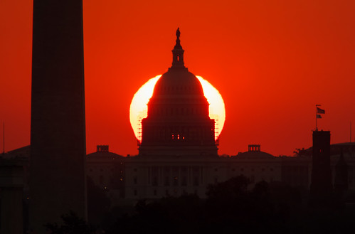 sunrise washingtondc capitol