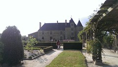 Logis de la Chabotterie (vue des jardins)