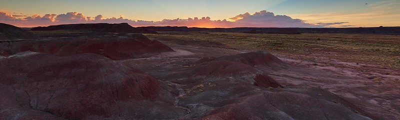 Wilderness Camping - Petrified Forest National Park