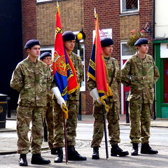 Cadet colours in Hedon Civic Parade 2014