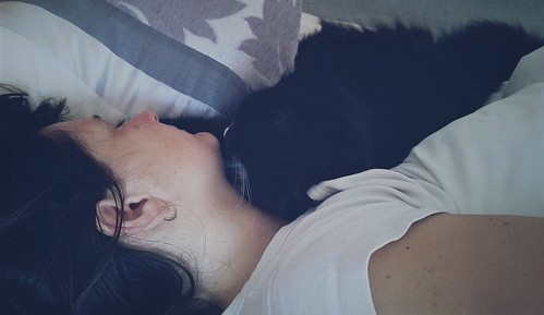 Nokia Lumia 1020 & ProShot - Sleeping Lisa & Dolf (or 'A witch and her familiar') - 2