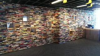 The Book Wall - News Building