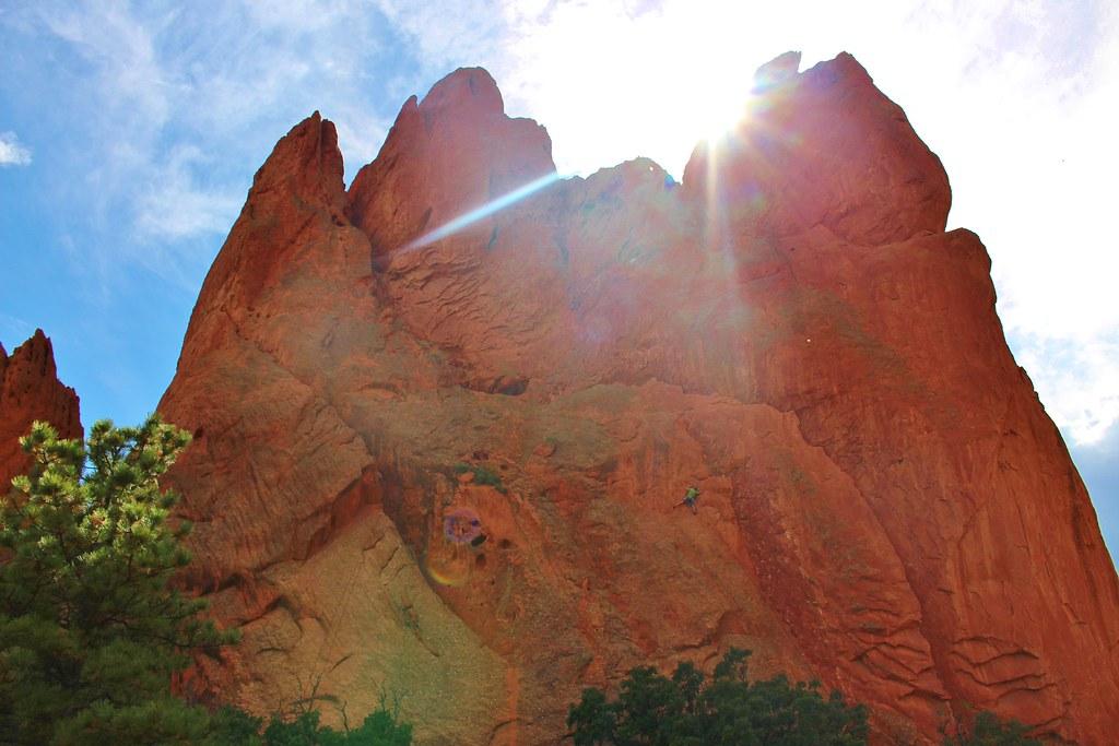 Colorado Sept '14 garden of the gods rock climbing
