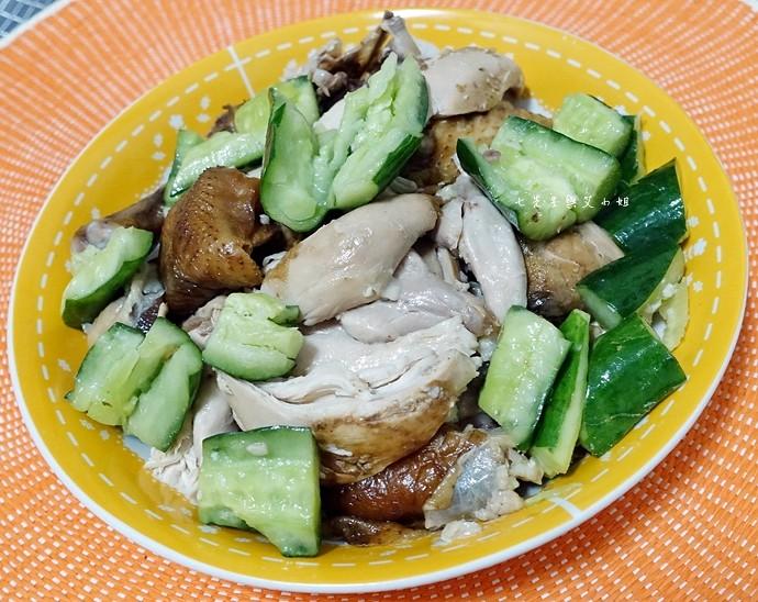 19 永寶餐廳山東燒雞墨魚香腸