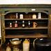 Antique pitch pine dresser