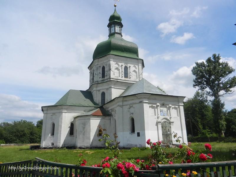 Воскресенская церковь Седнев