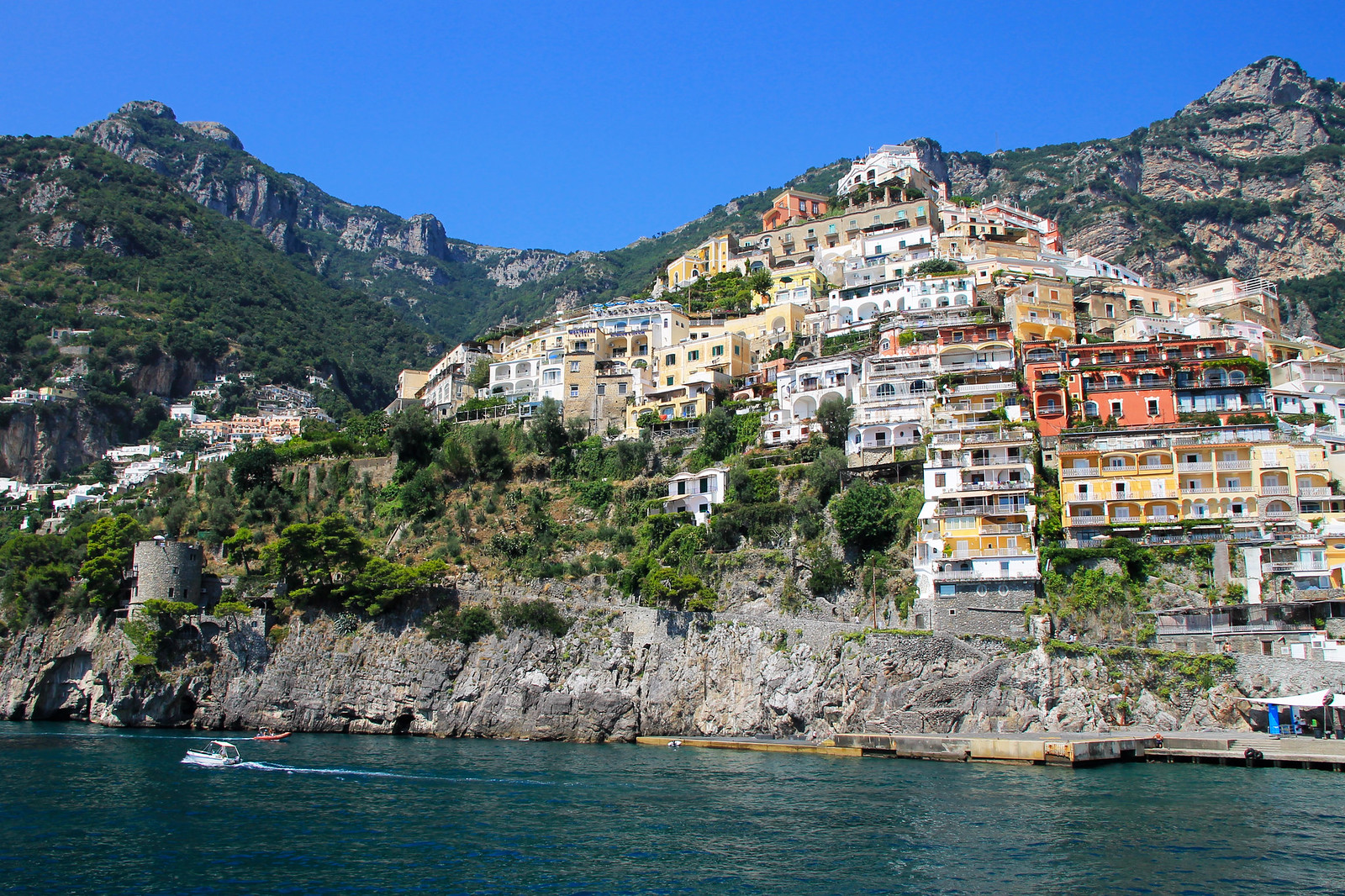 Positano Capris Italy travel blogger UK how to save for a holiday vacation