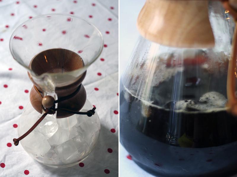 zwergenprinzessin kocht: iced chemex coffee