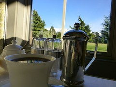 Quickenberry Lodge - Coffee and a view of Mt Hutt, please