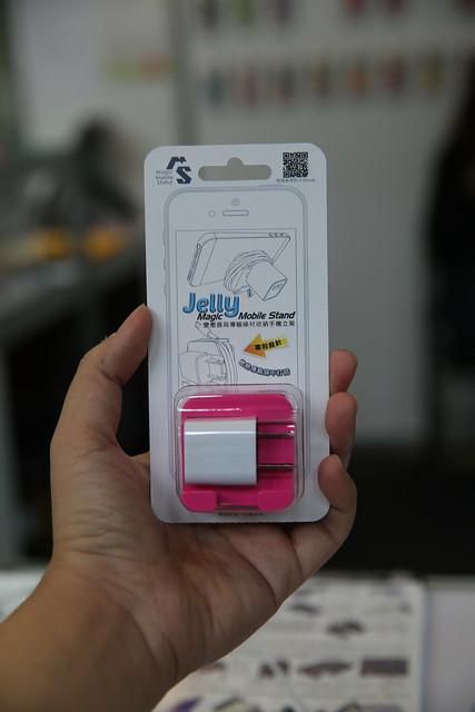 2014 COMPUTEX 有趣玩意 – MMS Jelly 搶先看,收納 + 立架 @3C 達人廖阿輝