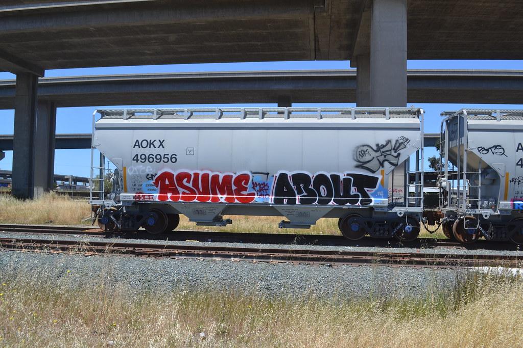 ASUME, ABOUT, Oakland, Graffiti
