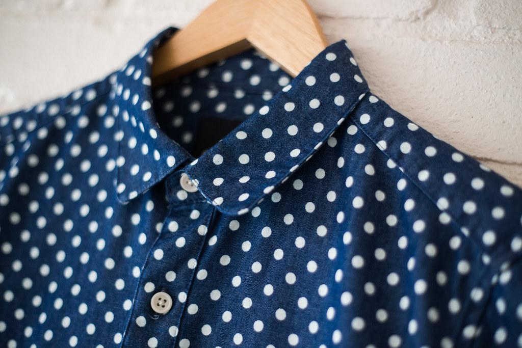 ASOS polka dot shirt