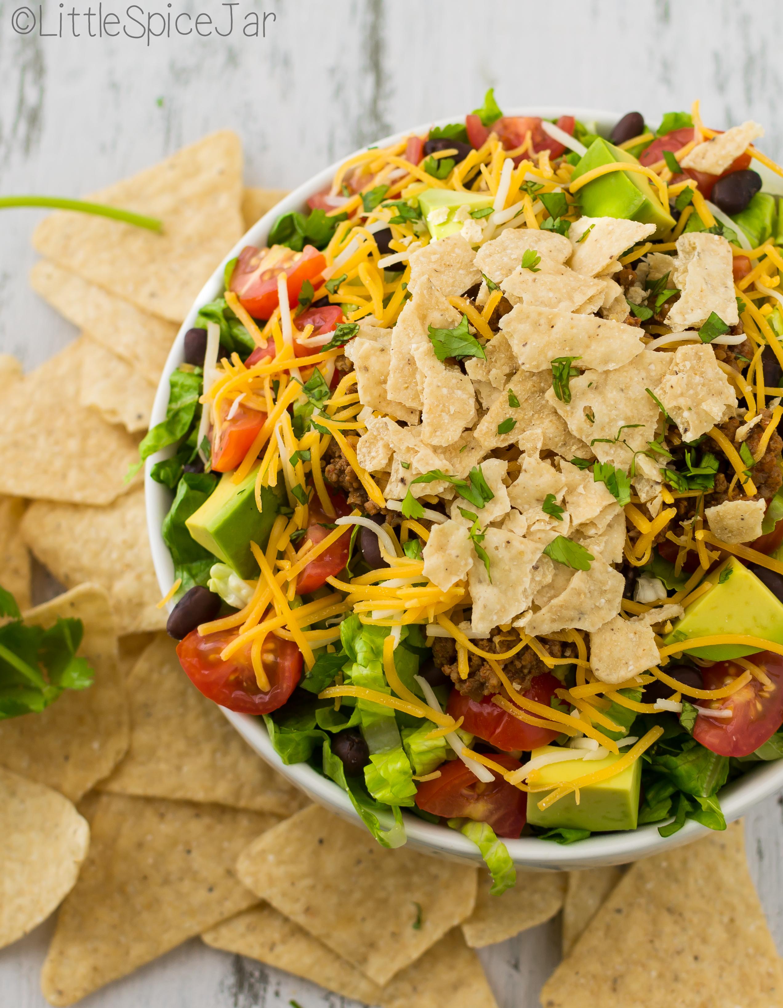 quick + easy Taco Salad