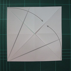 การพับกระดาษเป็นไดโนเสาร์ทีเร็กซ์ (Origami Tyrannosaurus Rex) 002