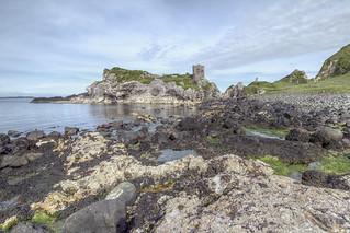 Kinbane Castle - Antrim Coast