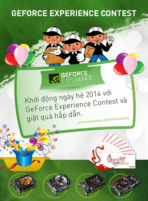 Cuộc thi geforce experience contest
