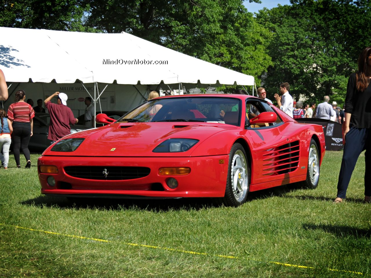 Ferrari 512M at the Greenwich Concours