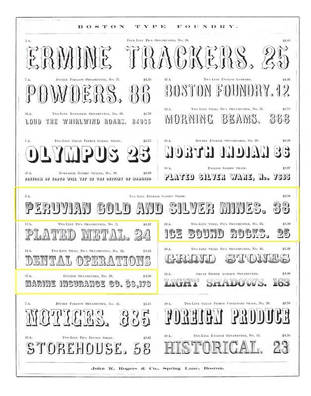 Gothic Shade, Boston 1860