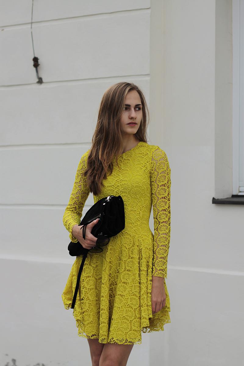 Dress H&m Trend Heeled
