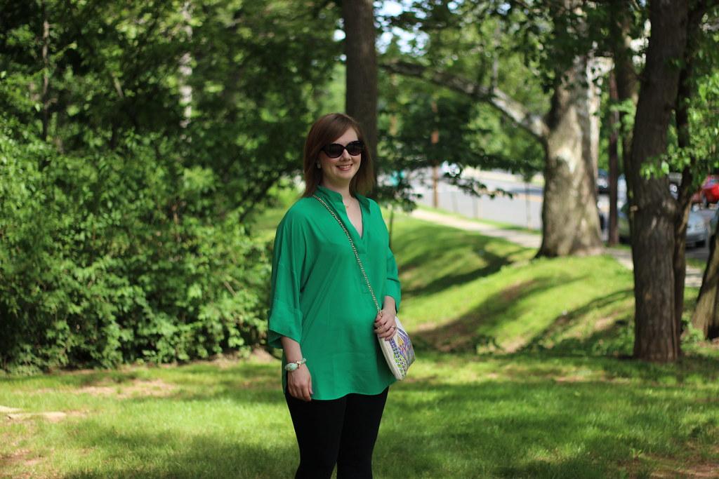 MK green tunic 1