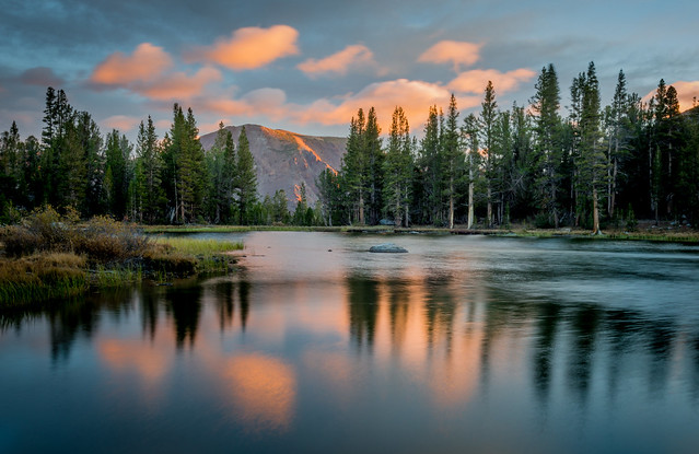 Alpine Tarn, Near Mt. Dana, Sunrise, #2